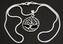 Load image into Gallery viewer, Tree of Life Necklace in Solid Silver