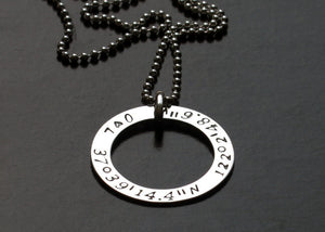 Personalized Valentines Gift Sterling Silver