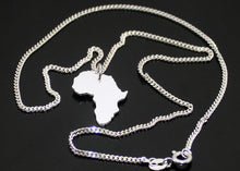 Load image into Gallery viewer, Sterling Silver Africa