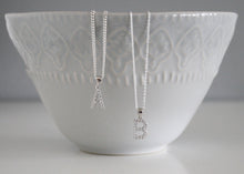 Load image into Gallery viewer, Initial Necklace in Sterling Silver