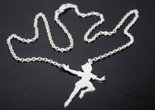 Load image into Gallery viewer, Peter Pan Pendant in Sterling Silver