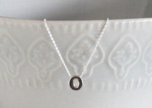 Load image into Gallery viewer, Silver Initial Necklace