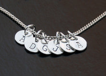 Load image into Gallery viewer, Sterling Silver Initials Necklace