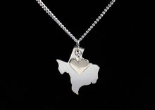 Load image into Gallery viewer, Texas Necklace Sterling Silver