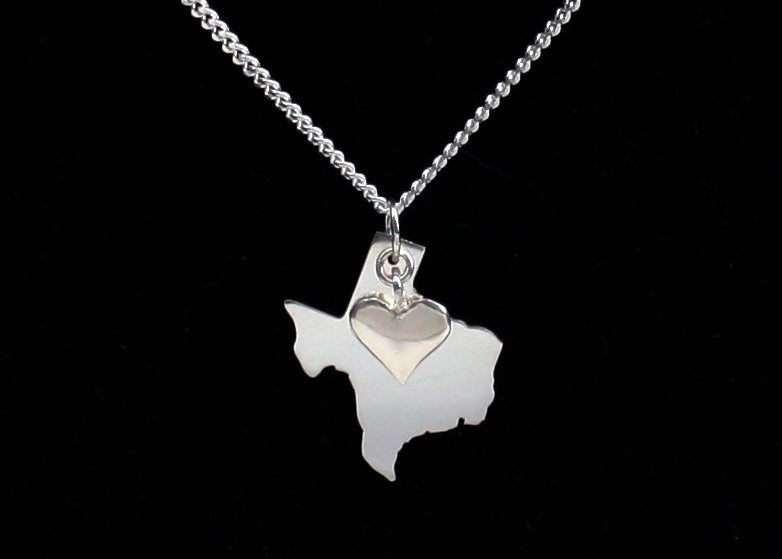 Texas Necklace Sterling Silver