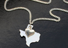 Load image into Gallery viewer, Solid Silver Texas Pendant