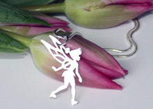 Load image into Gallery viewer, Fairy Pendant in Sterling Silver
