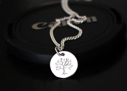 Tree of Life Sterling Silver Necklace