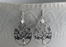 Load image into Gallery viewer, Tree of Life earrings Sterling Silver