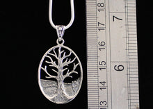 Load image into Gallery viewer, Solid Silver Tree of Life Necklace