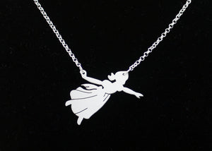 Wendy Darling Necklace in Sterling Silver
