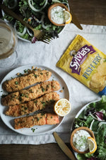 Sylvia's Fried Salmon