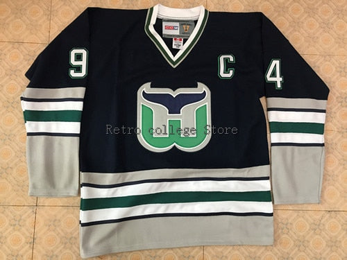 ... canada 94 brendan shanahan hartford whalers mens hockey jersey  embroidery stitched customize any number and name c1e31bd2d