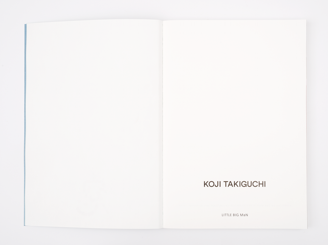 Koji Takiguchi. SOU. sold out