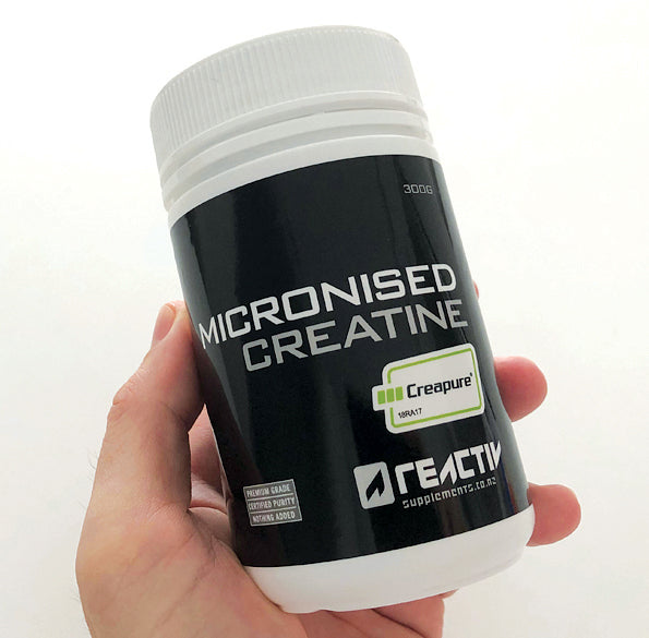 Reactiv Supplements Micronised Creatine Creapure