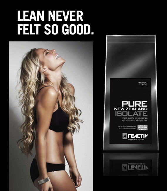 Fitness girl with Pure NZ Whey Isolate