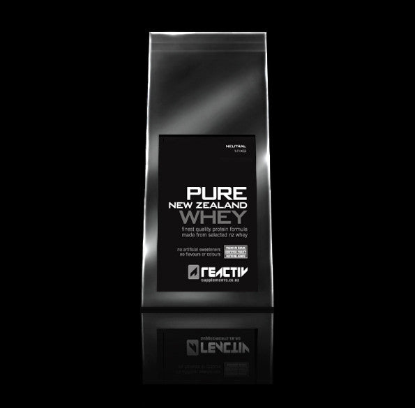 Pure New Zealand Whey Protein Powder With No Additives