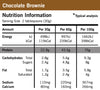 Defining Whey Protein Powder Chocolate Brownie Nutrition Information