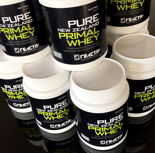 NZ Primal Whey 450g Mini Tubs