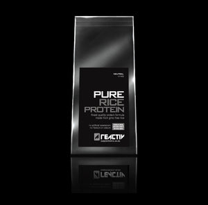 Pure Rice Protein Powder Sports Supplement, Vegan Protein Powder