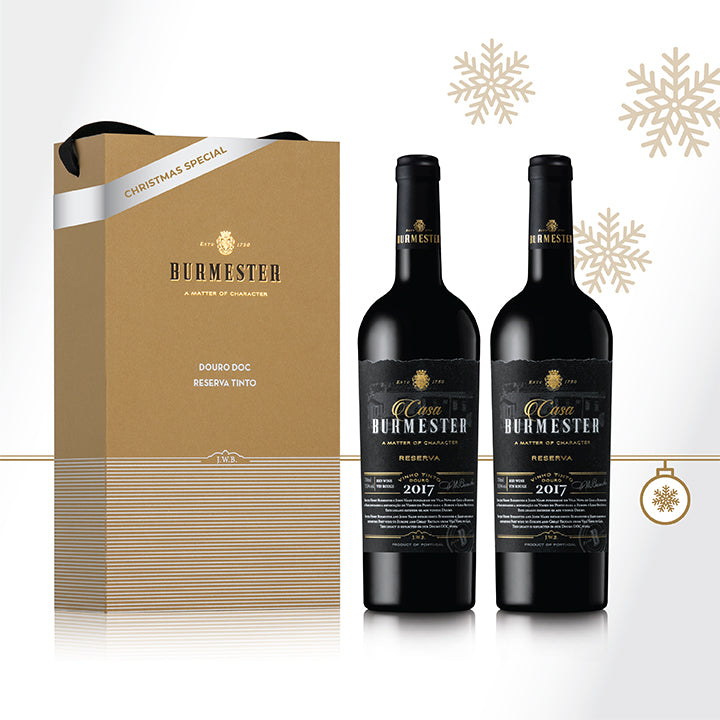 Kit 2 Botellas Casa Burmester Tinto 2017