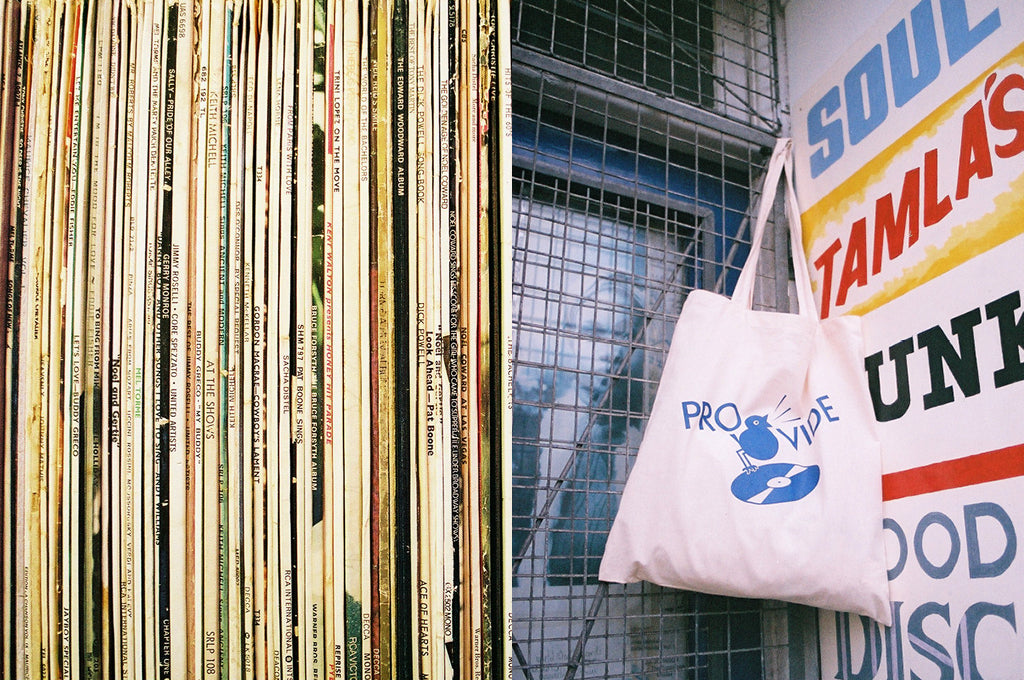 Provide Records Tote Bag