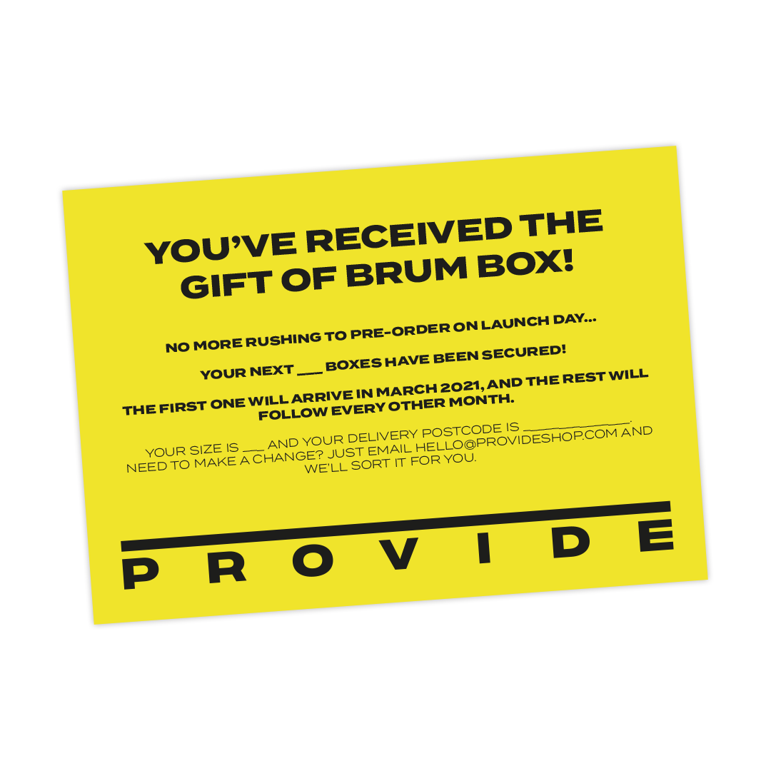 Brum Box Subscription