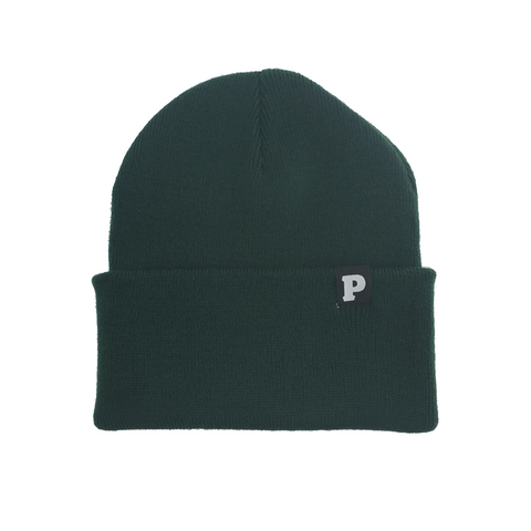 P Beanie (Forest Green)