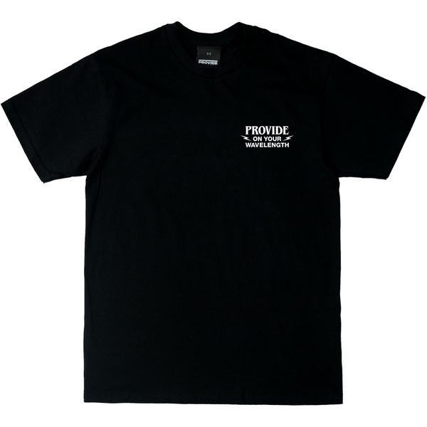 Wavelength Tee (Black)