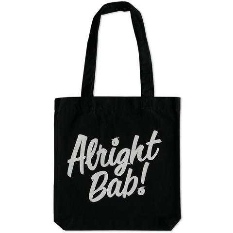 Alright Bab Tote Bag (Black)
