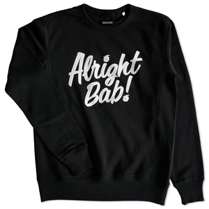 Alright Bab Crewneck (Black)