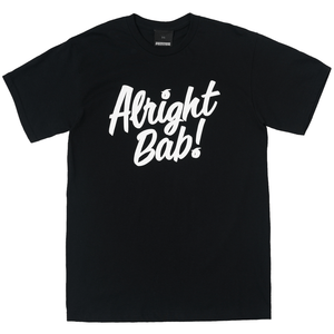 Alright Bab Tee (Black)