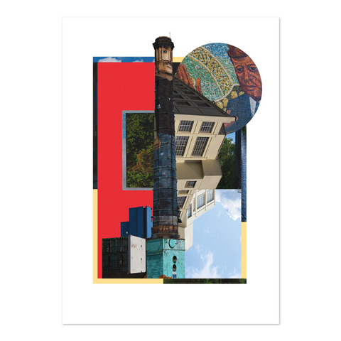 Explorer Collage Print - Digbeth
