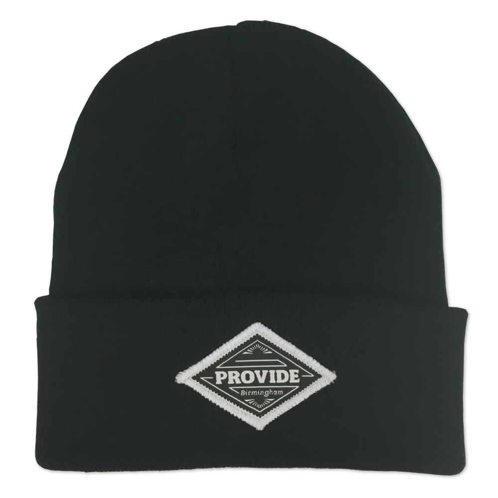 Diamond Beanie (Black)