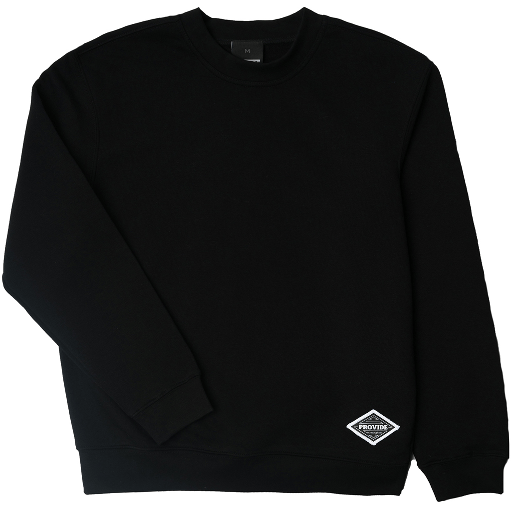 Diamond Daily Sweatshirt (Black)