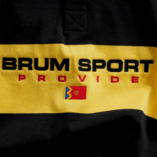 Brum Sport Rugby Shirt (Black/Yellow)