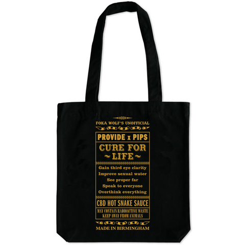 Foka Wolf's Cure For Life Tote Bag