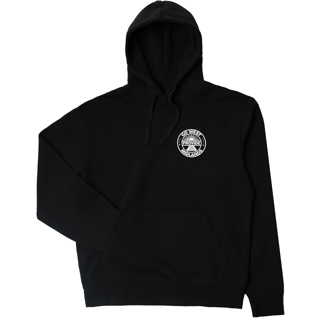 Go West Pullover Hoody (Black)