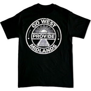 Go West Tee (Black/White)