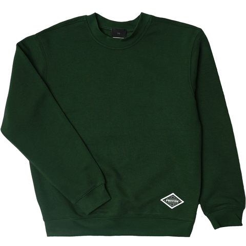 Diamond Daily Sweatshirt (Forest Green)