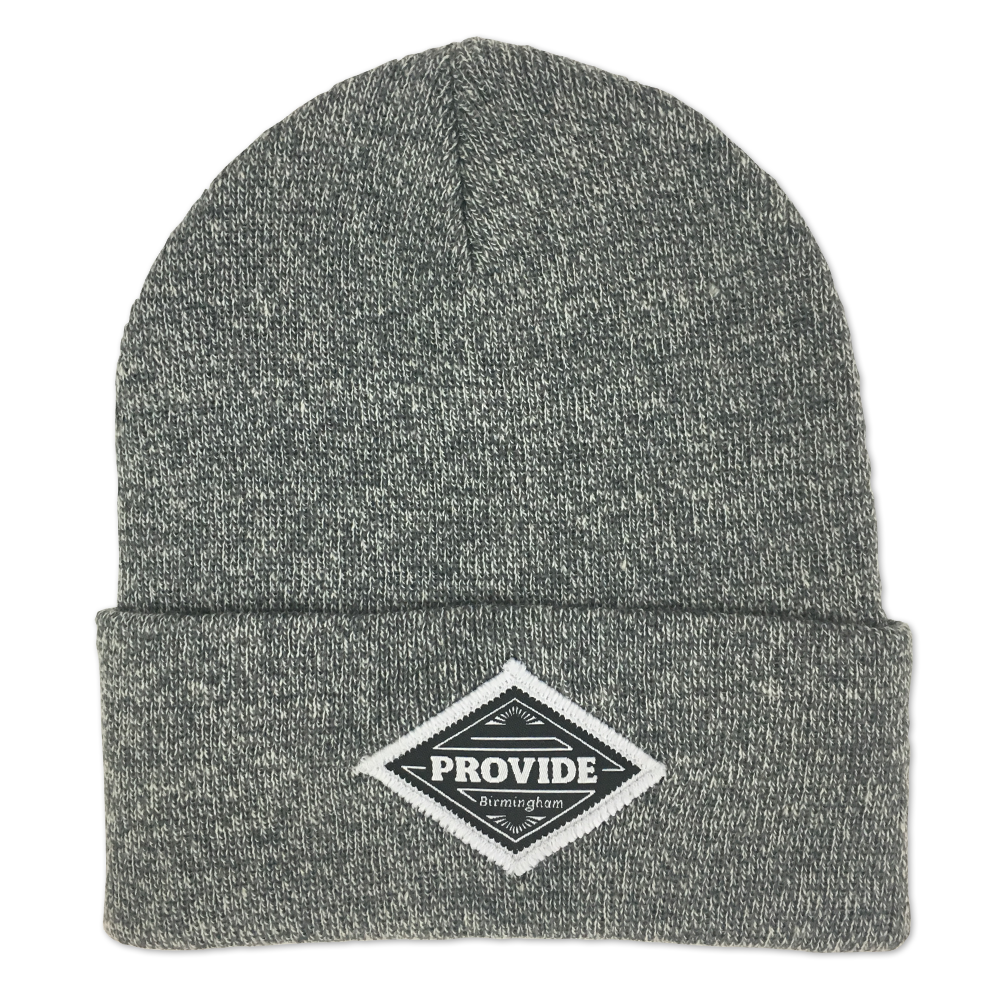 Diamond Beanie (Grey Heather)