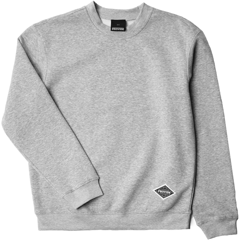 Diamond Daily Sweatshirt (Grey Heather)