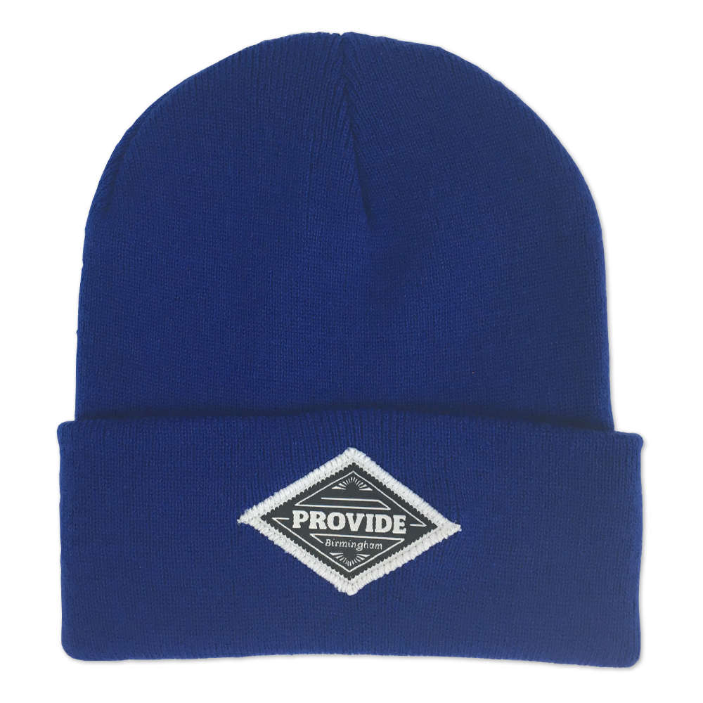 Diamond Beanie (Royal Blue)