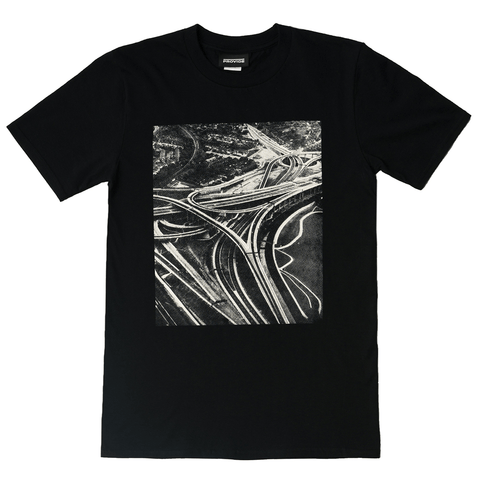 Spaghetti Junction Tee (Black)