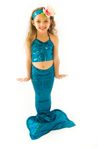 Blue Mermaid Tail