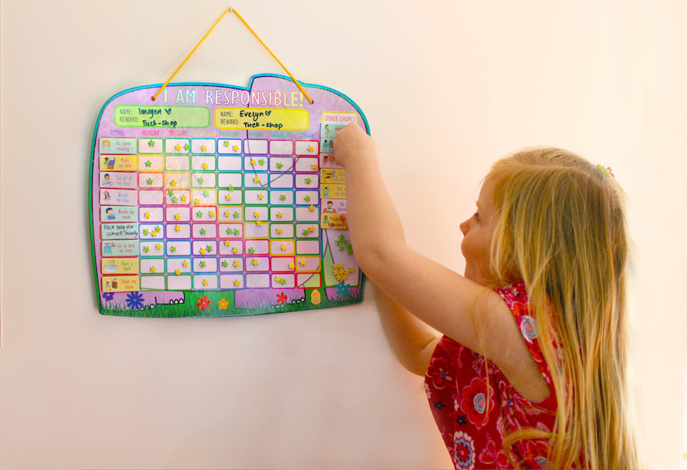 Yoyoboko I am Responsible Ele-fun Star Chart for 2 kids
