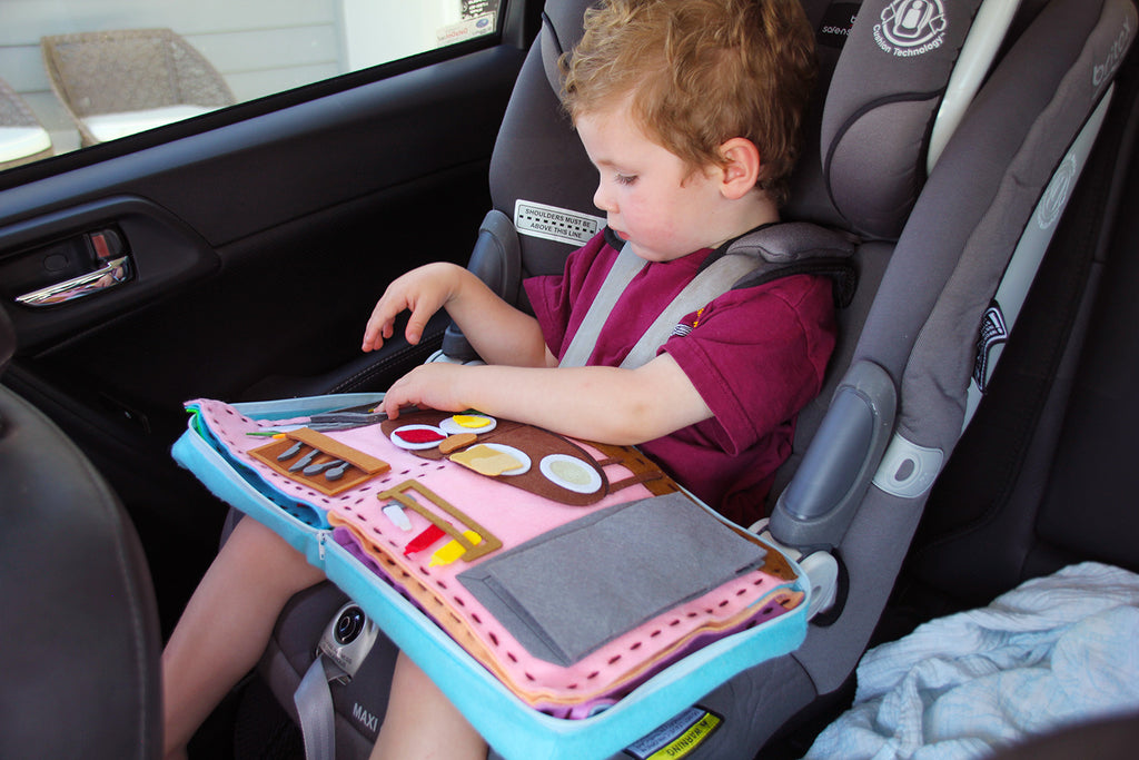Boko Book is easy to bring along when leaving the house