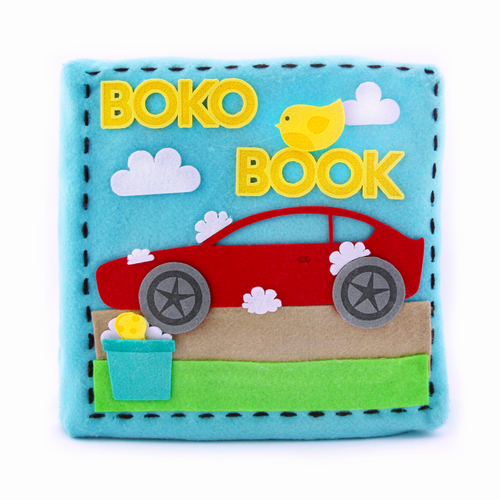 Boko Book: Around the House Quiet Book