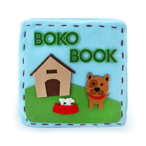 Boko Book: Let's Go Outside Quiet Book