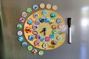 Paint My Day Activity Planning Clock